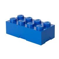 Lunchbox LEGO brick 8 blauw