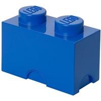 Opbergbox LEGO brick 2 blauw