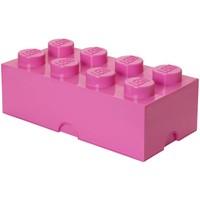 Opbergbox LEGO brick 8 roze