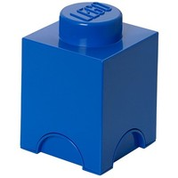Opbergbox LEGO brick 1 blauw