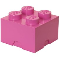 LEGO License Opbergbox LEGO brick 4 roze