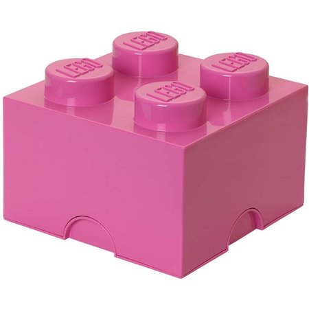 LEGO License LEGO Opbergbox: Brick 4 (6 ltr) - roze