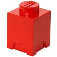 Opbergbox LEGO brick 1 rood