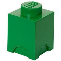 Opbergbox LEGO brick 1 groen