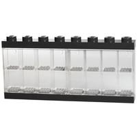 Opbergbox Lego: minifigs zwart 16-delig