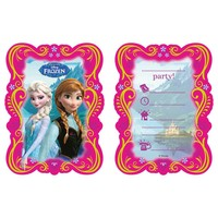 Uitnodigingen Frozen classic 6 stuks