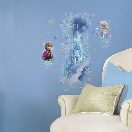 Frozen Muursticker Frozen Roommates: sisters 45x101 cm