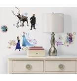 Frozen Muursticker Frozen Roommates: 45x25 cm