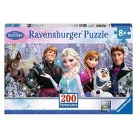 Puzzel Frozen: 200 stukjes