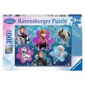 Puzzel Frozen: 300 stukjes