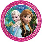 Bordjes Frozen classic 23 cm 8 stuks