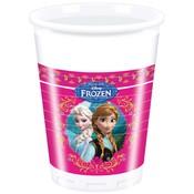 Bekertjes Frozen classic 200 ml 8 stuks