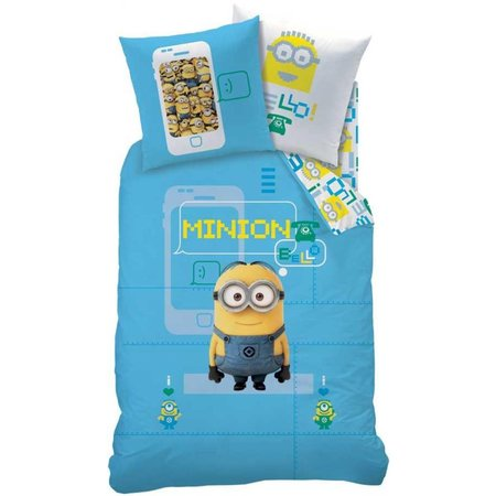 Minions Dekbed Minions geek: 140x200/50x75 cm