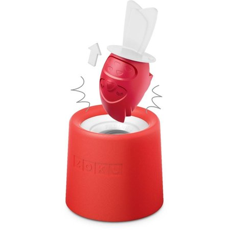 Zoku ZOKU Icelolly Pop Maker Rood Vogel