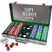 Pro Poker koffer: 300 chips