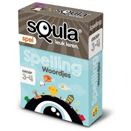 Identity Games Kaartspel sQula: Spelling Woordjes