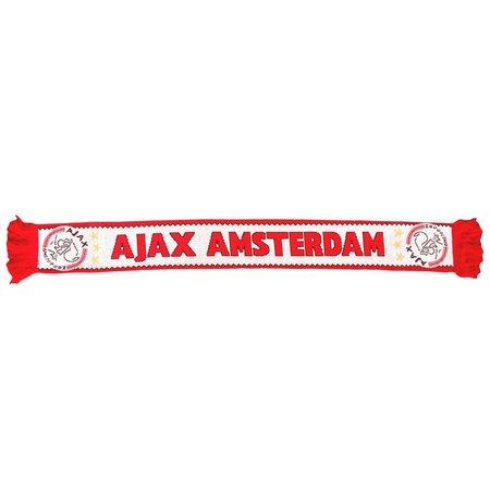 AJAX Amsterdam Ajax sjaal rood wit 3 sterren