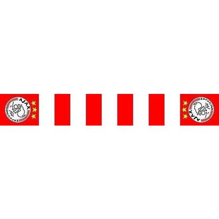 AJAX Amsterdam Ajax sjaal rood wit blokken