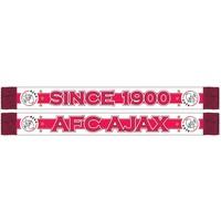 Sjaal ajax rood/wit since 1900