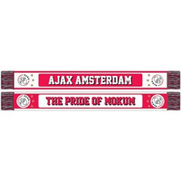 Sjaal ajax rood/wit pride of mokum