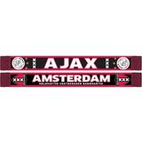 Sjaal ajax rood/zwart kruizen