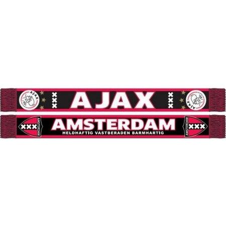 AJAX Amsterdam Sjaal ajax rood/zwart kruizen