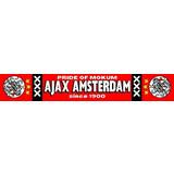 Sjaal ajax rood mokum oude logo