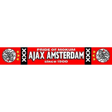 AJAX Amsterdam Sjaal ajax rood mokum oude logo