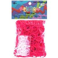 Bandjes Rainbow Loom 600 stuks roze