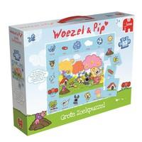 Puzzel Woezel en Pip: 53 stukjes