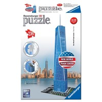 Puzzel One World Trade Center 3d: 216 stukjes
