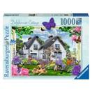 Ravensburger Puzzel Delphinium Cottage: 1000 stukjes