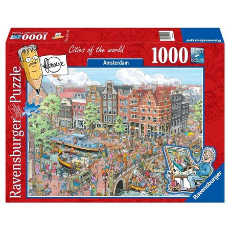 Ravensburger Puzzel Fleroux Amsterdam: 1000 stukjes