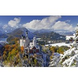 Ravensburger Puzzel Slot Neuschwanstein in winter: 3000 stukjes
