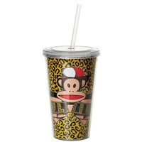 Drinkbeker 500 ml + rietje geel FRESH Paul Frank