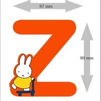 Letter Nijntje 8 cm Z