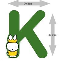 Letter Nijntje 8 cm K