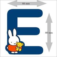 Letter Nijntje 8 cm E