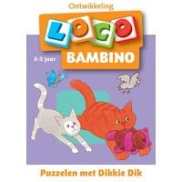 Puzzelen met Dikkie Dik Loco Bambino