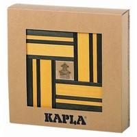 Kapla 40 stuks kleur met boekje geel/groen