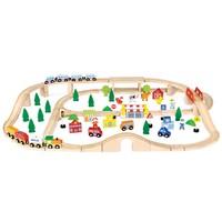 Trein Set New Classic Toys: 90-delig 105x73x8 cm