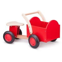 Bakfiets New Classic Toys rood/blank 37x63x28 cm
