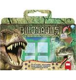 Non-License Stempelset luxe Dinosaurs: 12-delig