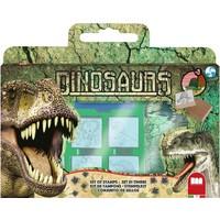 Stempelset luxe Dinosaurs: 12-delig