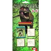 Stempelset Dinosaurs 7-delig