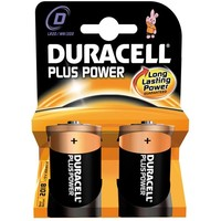 Batterijen Duracell Plus Power MN 1300 D: 2 stuks
