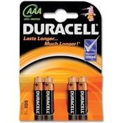 Batterijen Duracell Plus Power MN 2400 AAA: 4 stuks