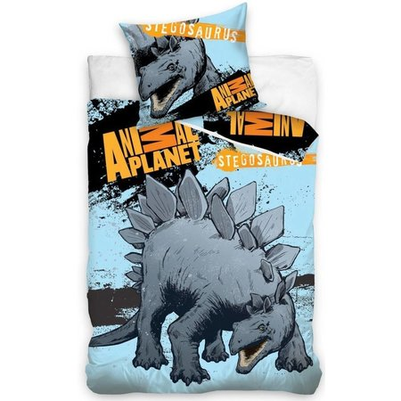 Animal Planet Dekbed Animal Planet Stegosaurus: 140x200/70x80 cm