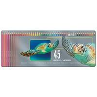Kleurpotloden Bruynzeel schildpad: 45 stuks
