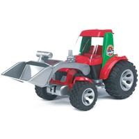 Tractor met voorlader Bruder Roadmax